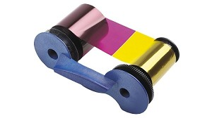 Datacard 534000-006 YMCKTKT Full Color Dual-Sided Printer Ribbon With Cleaning Kit