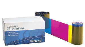 Datacard YMCK Ribbon ° with cleaning kit, 500 prints